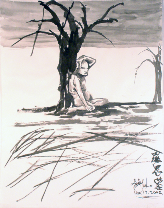 Sitting At The Lone Tree, 2002