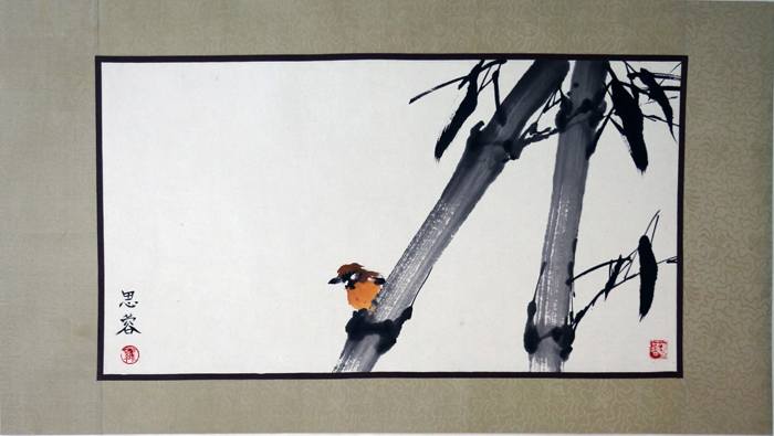 Bamboo and Birdie, 2003